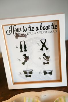 Bow Tie Birthday Party Details