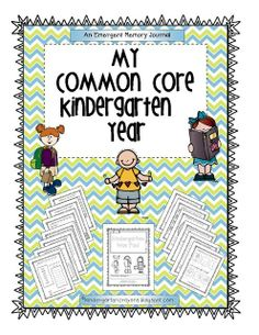 Kindergarten Crayons  This has become a really hot item in my store. It documents the year in K. It could be used at beginning of first grade as a way to assess their learning! Only $5.00 #Christmas #thanksgiving #Holiday #quote