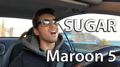 This is what happens when I get bored while driving... Enjoy! http://youtu.be/nv91_bUnnCg Maroon 5 - SUGAR (Car Cover by Step)