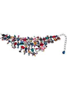 Shoppen Rodrigo Otazu Choker mit Swarovski-Kristallen von Uzerai aus den weltbesten Boutiquen bei farfetch.com/de. In 300 Boutiquen an einer Adresse shoppen.