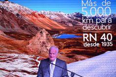 Se presentó el libro de la carretera más larga del país http://www.ambitosur.com.ar/se-presento-el-libro-de-la-carretera-mas-larga-del-pais/ La Oficina de Prensa de la Dirección Nacional de Vialidad (D. N. V.), dependiente de la Secretaría de Obras Públicas y del Ministerio de Planificación Federal, Inversión Pública y Servicios de la Nación, informa que se realizó la presentación oficial del nuevo libro de la Ruta Nacional N° 40, de