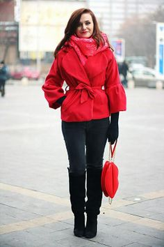 Discover this look wearing Red Clutch OASAP Bags, Black Zara Boots - Lazy chic by Chaba styled for Chic, Everyday in the Winter Lazy Day Outfits, Fall Outfits, Office Outfits, Zara Boots, Red Clutch, Classic Style, My Style, Cold Weather Fashion, Swagg