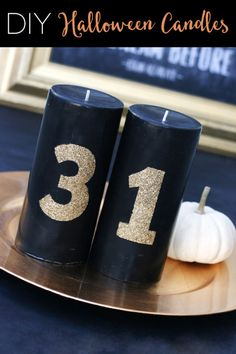 Going for glamour instead of gore this Halloween? Plenty of elegant candles elevate your party's atmosphere to gothic and eerie instead of slimy and scary. Grab some black candles, stencils and glitter paint, and get ready to prep some seriously stylish Halloween decor. In fact, you can adapt the technique and the colors to make lovely candles for any occasion. Get the eBay guide to creating glam Halloween candles.
