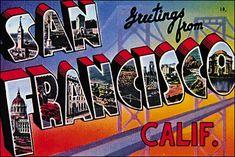 Postcard of San Francisco