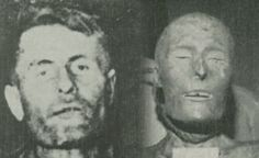4 Deathhacks for an Egyptian Mummy his is the most obvious use for an authentic mummy.  Using a mummy that was inherited or purchased inexpensively at garage sale will save on decorating costs.    This may seem ridiculous, but operators of amusement parks and haunted attractions have unwittingly used human remains as decorations for years. The case of Elmer McCurdy, train robber and outlaw, is the most famous example. Picture of Elmer McCurdy before embalming (left) and after (right).