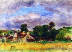 Pierre Auguste Renoir Breton Landscape oil painting reproductions for sale
