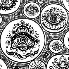 zentangle eyes I want one of these as a necklace