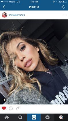 Cristal Serrano Hair