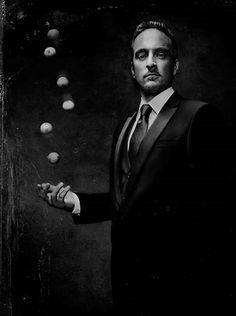 One of my favorite people on the planet. I love this guy! Derren Brown - illusionist, mentalist, hypnotist, painter, writer, skeptic.
