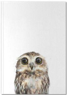 Little Owl - Amy Hamilton - Carnet premium
