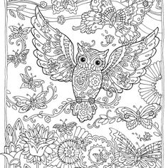 More Than 15 Mandala Owls Coloring Pages Reducing the Stress - Coloring Pages Owl Coloring Pages, Adult Coloring Book Pages, Printable Adult Coloring Pages, Colouring Pics, Mandala Coloring, Coloring Sheets, Coloring Books, Colorful Pictures, Creative