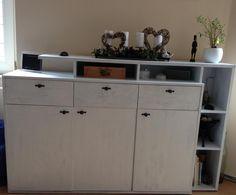 Wohnzimmerschränke in Shabby Chic umstylen Bastelanleitung zum...