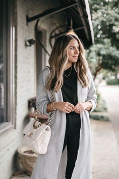 How To Style 3 Long Cardigans | The Teacher Diva: a Dallas Fashion Blog featuring Beauty & Lifestyle