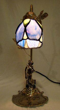Jugendstil lamp DB-3672L + kap 9003 | Lampen | Haddon Hall Interieur