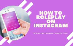 How to Roleplay on Instagram (BEST ARTICLE) Make A Character, Character Names, Instagram Money, Instagram Accounts, Pen And Paper