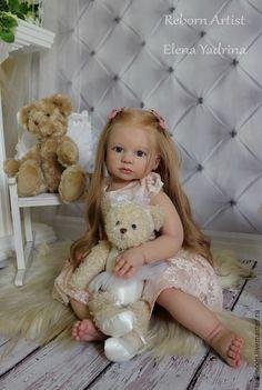 Куклы-младенцы и reborn ручной работы. Заказать Эля. Елена Ядрина. Ярмарка Мастеров. Младенец, краски генезис