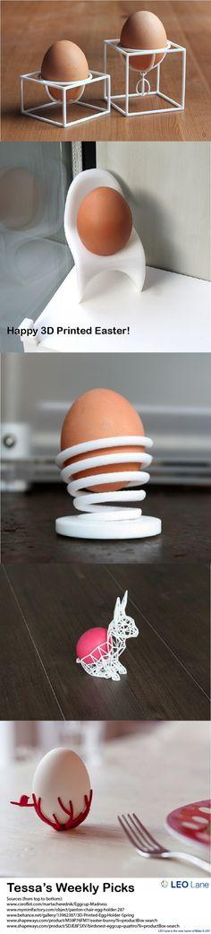 Tessa's Weekly Picks – Happy 3D Printed Easter!