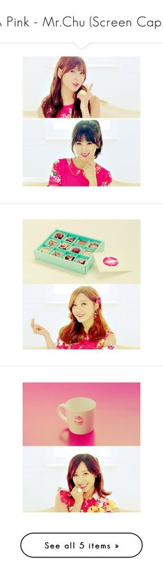 """A Pink - Mr.Chu (Screen Caps)"" by xiuneytv ❤ liked on Polyvore"