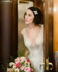 2013 Wedding Trend | Roaring '20s - 1920's bridal look - #weddingtrends #1920s #bridal