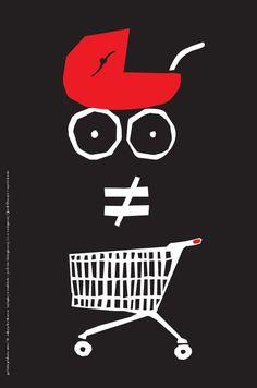 Plakat Jacka Doszynia - wymiary: 66,6 x 100 cm - cena: 15 zł / A poster by Jacek Doszyń - size: 66,6 x 100 cm - price: 15 zł