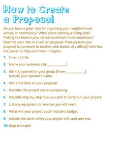 Free printable service learning worksheet gathering information download how to create a proposal a free printable page from the kids malvernweather Images