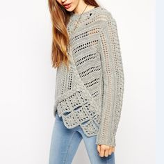 2014 Manufacturer Latest Design Moden Fashion Women asymmetric crochet sweater, View 2014 crochet sweater, AOXINI Product Details from Aoxi Fashion Garment Limited Company (Dongguan) on Alibaba.com