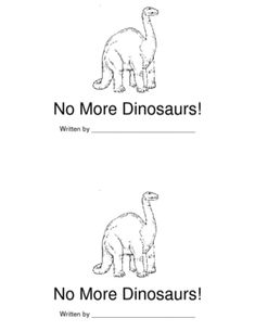 Student reader to use during a Dinosaur unit.  ...