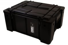 "Wolfpack Storage Boxes are based on the African Military ammunition boxes. With a unique stacking ability which allows them to interlock each base into the lid, these sturdy storage containers allow packing with minimal wasted space due to the angular design.    ~7lbs	19.7"" x 15.7"" x 9""  $40.00  Sierra Expeditions"