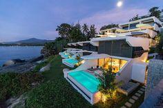 Descubrimiento de la semana 183: Casa con piscina con vistas en Phuket, Tailandia. #piscina #pool #pools #poolwithaview #piscinaconvistas #infinitypool #piscinadesbordante #dreamingpool #architecture