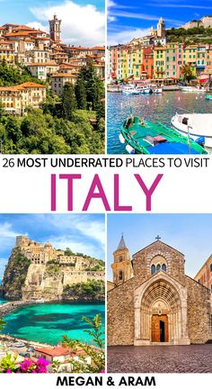There are many fantastic places that are off the beaten path in Italy. This is a guide to some of the absolute best - put them on your Italy bucket list ASAP! | Visit Italy | Things to do in Italy | Italy destinations | Beaches in Italy | Beautiful places in Italy | Places to visit in Italy | Italy hidden gems | Italy islands | Italy beaches | Best of Italy | Travel to Italy | Instagrammable Italy | Italy photography Italy Places To Visit, Things To Do In Italy, Visit Italy, Italy Destinations, Best Of Italy, Italy Travel Tips, Italy Italy, Beaches, Travel Inspiration