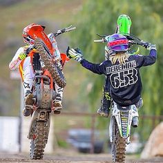 Riding buddy's