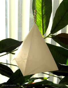 All Things Paper: Folded German Bell Tutorial