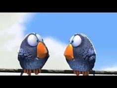 Pixar Short Films For the Birds -- Perfect for teaching inference and so cute! Funny Happy Birthday Song, Birthday Songs, For The Birds Pixar, Short Film Youtube, Pixar Shorts, Vídeos Youtube, Funny Birds, Social Thinking, Peanuts Gang