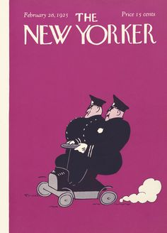 The New Yorker - Saturday, February 28, 1925 - Issue # 2 - Vol. 1 - N° 2 - Cover by : Carl Fornaro