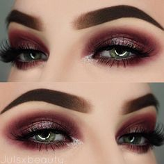 Awesome Makeup with Eyeshadow for Green Eyes ★ See more: https://makeupjournal.com/eyeshadow-for-green-eyes/