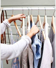 DIY Projects: White Chic DIY Pipes Clothes Rail Garment Rack Design Ideas By Claire Of Camille Styles: Chic Diy Clothes Racks That Provide Modern Clothing Storage
