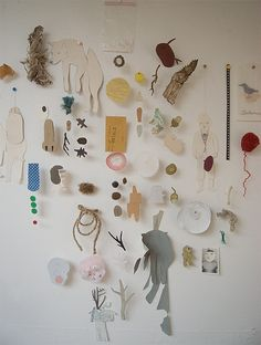 Camilla Engman - hanging collage