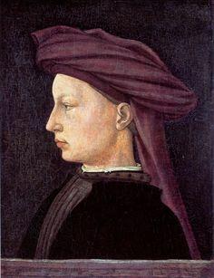 Masaccio - Portrait of a Young Main in Profile 1425
