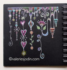 visual blessings: More Doodling on the Dark
