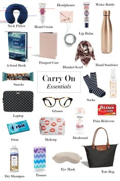 travel essentials carry on \ travel essentials carry on ; travel essentials carry on packing lists ; travel essentials carry on long flights Travel Packing Checklist, Carry On Packing, Road Trip Packing, Road Trip Hacks, Travelling Tips, Road Trips, Road Trip Checklist, Travel Backpack Carry On, Packing Tips For Vacation