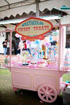 Tiffany's Dainty Carnival Themed Party – 1st Birthday - Party Doll Manila