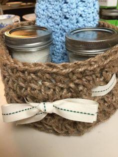 Jute Twine Basket - free crochet pattern by Savvy Nana.