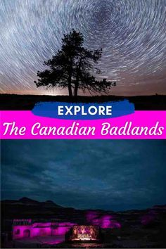 One of the world's largest collection of dinosaur fossils lies in The Canadian Badlands in the province of #Alberta. Not only can you go on fossil safari's but you'll be able to hike through hoodoos and take in some fantastic dark skies. #DinosaurProvincialPark #DinosaurProvincialParkAlberta #DinosaurProvincialParkCamping #DinosaurProvincialParkAlbertaCanada #AlbertaTravel #Badlands #CanadianBadlands #TheCanadianBadlands #Drumheller #CalgaryRoadTrip