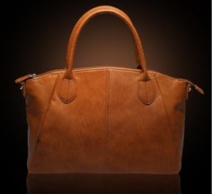 Leather Elegant Tote Shoulder Bag