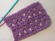 "How to Crochet the ""Braided Lace"" Stitch Pattern - YouTube"