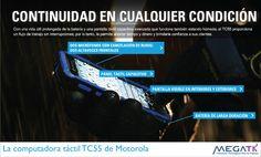 El equipo Motorola TC55 es una computadora táctil de bolsillo para las empresas