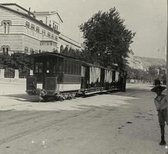 TRAVEL'IN GREECE | Panepistimiou avenue in Athens, 1908, #Attica, #Greece, #travelingreece