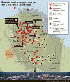 Longread Aardbevingen. Dagblad van het Noorden - Dossier Aardbevingen