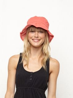 72fdc015071 Cute hat! Love me a good bucket hat for summer