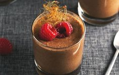 Aquafaba has become a popular egg replacer in recipes from cakes to cocktails. Check out a Vegan Chocolate Mousse made with this surprising ingredient.